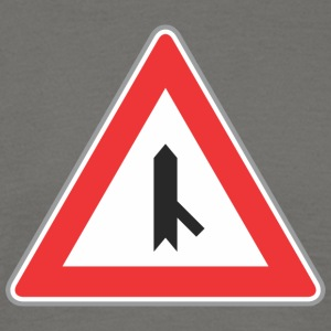 Road Sign juiste manier - Mannen T-shirt
