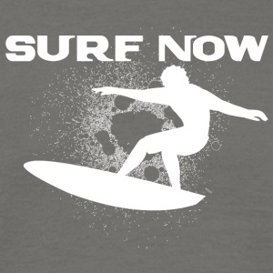 surf now 4 white - Men's T-Shirt