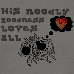 his noodle goodness loves all - Men's T-Shirt