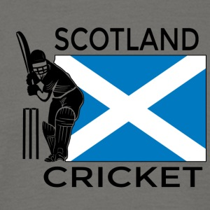 cricket Skottland - T-shirt herr