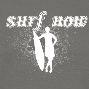 Surfer girl 02 hvit - T-skjorte for menn