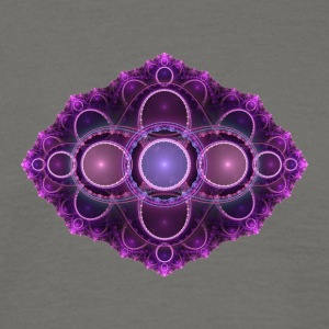 apophysis purple - Men's T-Shirt