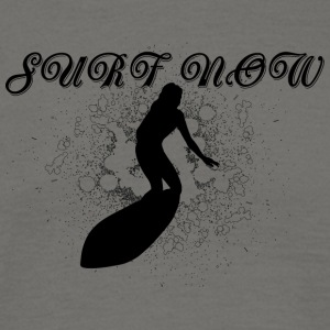 Surfer girl black - Men's T-Shirt