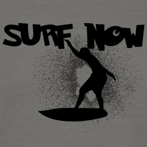 surf now 5 black - Men's T-Shirt
