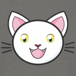 WHITE CAT COLLECTIE - Mannen T-shirt