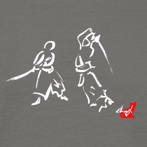 Drawing Japanese sword - Men's T-Shirt