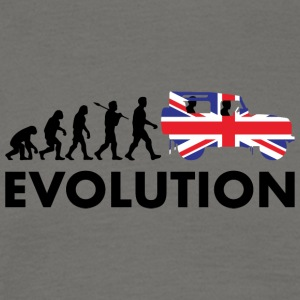 British evolution - T-shirt herr