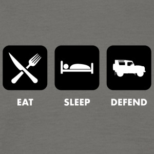 Eat, Sleep & Defend - Maglietta da uomo