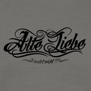 Alte_Liebe_Spreadshirtsize_black - T-shirt Homme