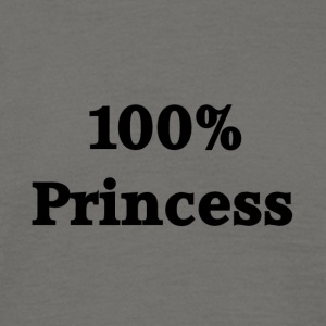 prinses - Mannen T-shirt