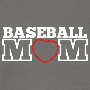 Baseball mom - Mannen T-shirt