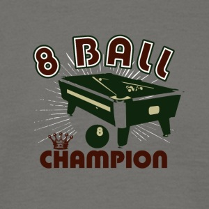 8 balls champion 01 - Men's T-Shirt