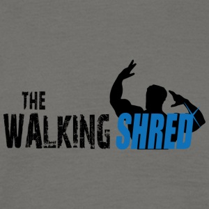 The Walking Shred - Herre-T-shirt