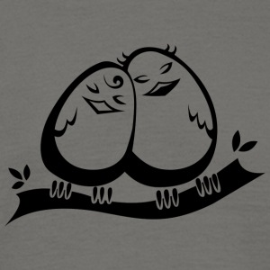 Love Birds COLLECTION - T-skjorte for menn