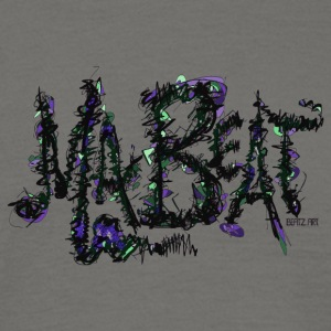 MA BEAT purple- ARTwork by BEATZ.Art font design - Men's T-Shirt