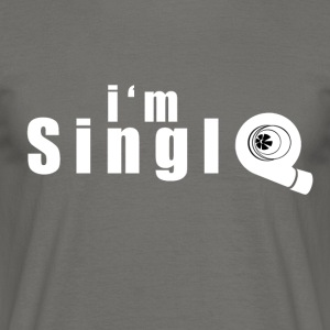 im single - T-shirt herr