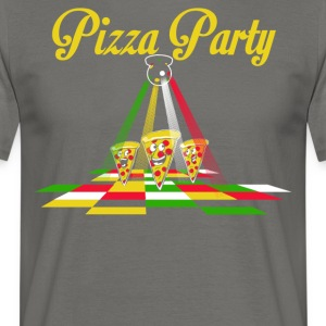 Pizza Party - T-shirt herr