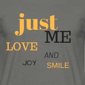 JUST ME - Men's T-Shirt