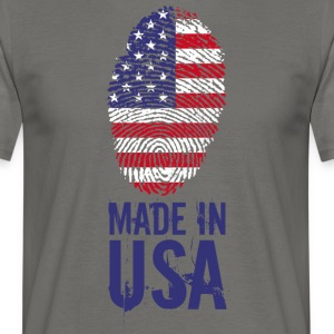 Made in USA / Made in USA in America - Maglietta da uomo