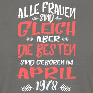 April 1978 - Männer T-Shirt