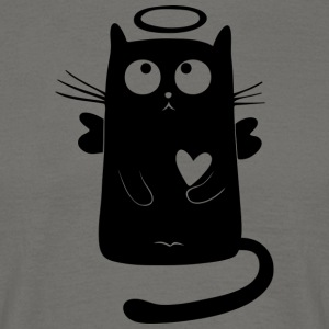 Black Cat Isle - Men's T-Shirt