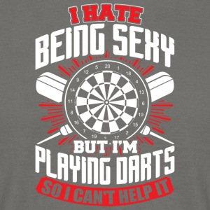 DARTS - HATE BEING SEXY - Men's T-Shirt