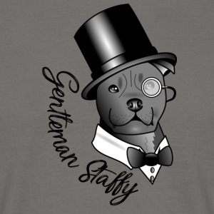 gentleman Staffy - Men's T-Shirt