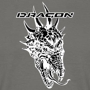 dragon noir thornful - T-shirt Homme