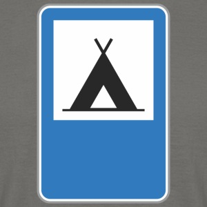 Road sign triangle - Men's T-Shirt