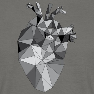 Graphic Heart - Mannen T-shirt