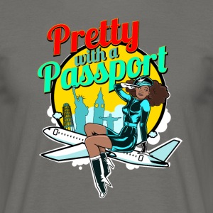 Pretty With A Passport - T-shirt Homme