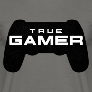 True Gamer door Juiceman Benji Gaming - Mannen T-shirt
