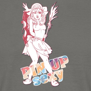 poitrine nue pin up fille - T-shirt Homme