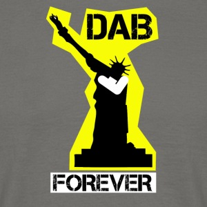 DAB FOREVER STATUE OF YELLOW Liberty- - Men's T-Shirt