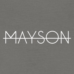 Mayson white skrift - T-skjorte for menn