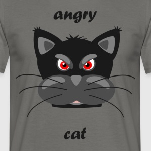 chat fou - T-shirt Homme