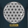 Illusion Iluzja - Koszulka męska