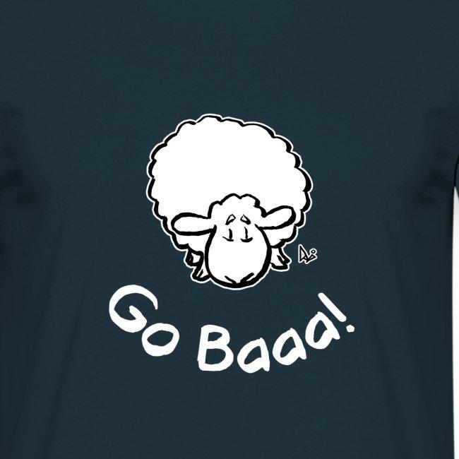 Schafe gehen Baaa! (schwarze Ausgabe)