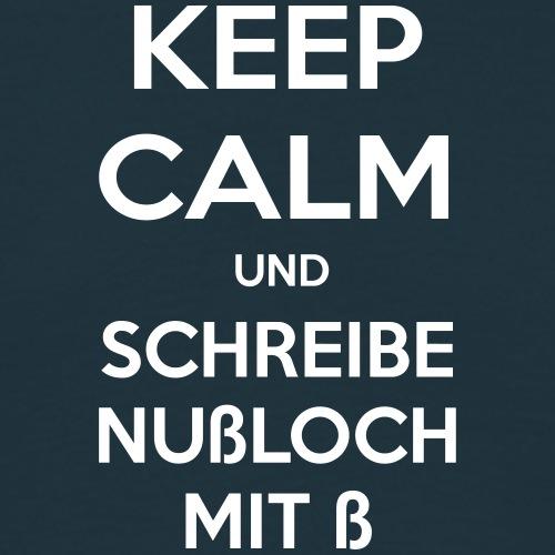 KEEP NUßLOCH - Männer T-Shirt