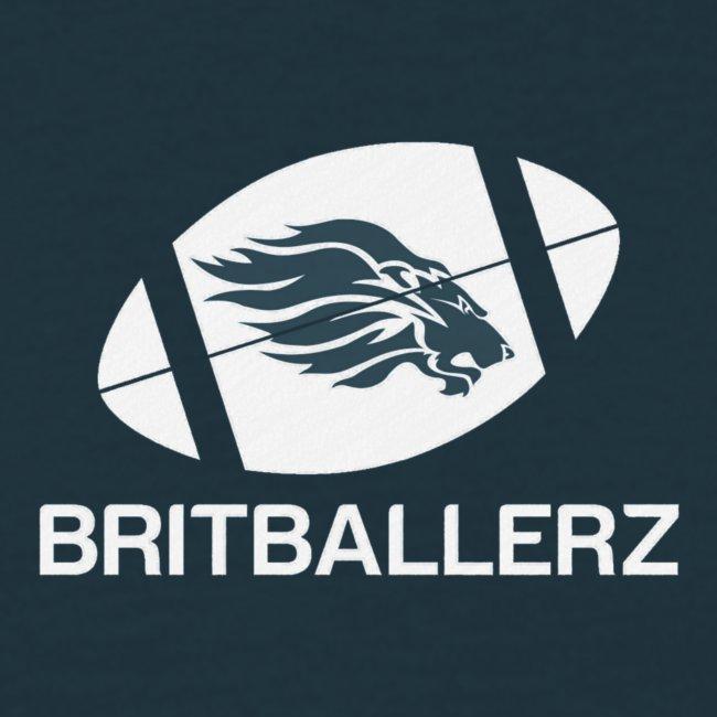 Britballerz white logo