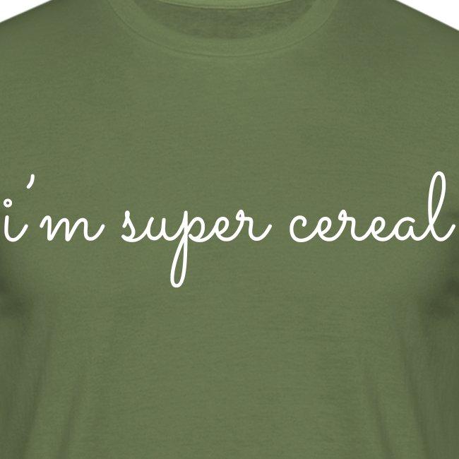 i m super cereal