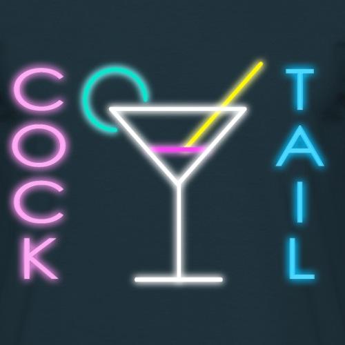 Cocktail Neon - Männer T-Shirt