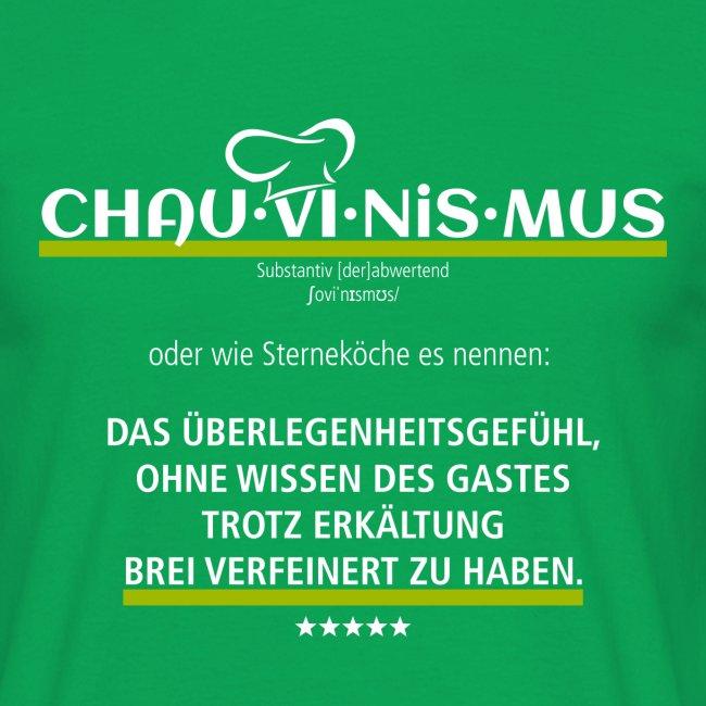 Chau-vi-nis-mus