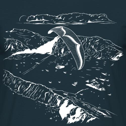 Paragliding Gleitschirm - Männer T-Shirt