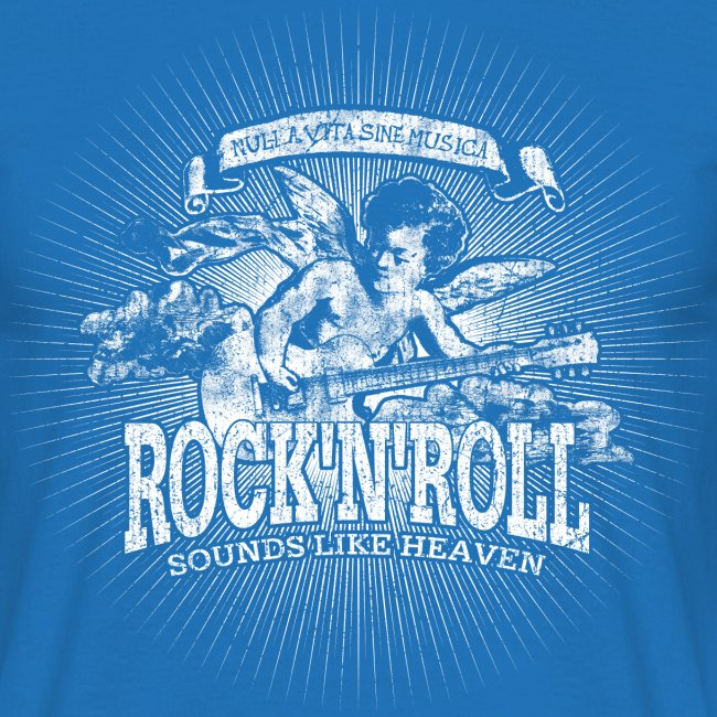 Rock 'n' Roll - Sounds Like Heaven (valkoinen)