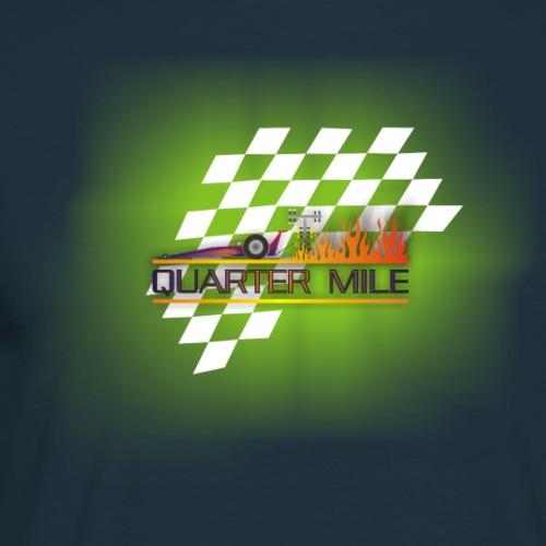 Quarter Mile Flame - Männer T-Shirt