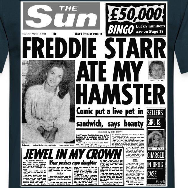Freddie Starr Ate My Hamster FP BW