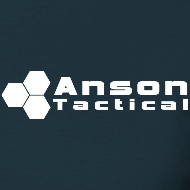 Anson Logo White