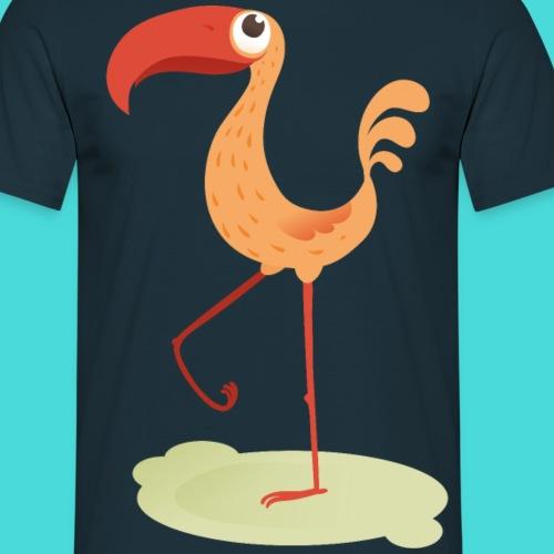 Flamingo - Männer T-Shirt