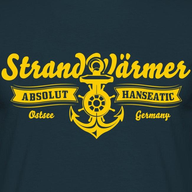 StrandWärmer Absolut Hanseatic Anker Gelb